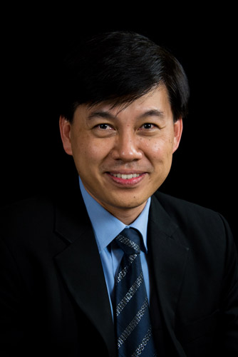 TAN Huay Cheem Portrait, president of APSIC