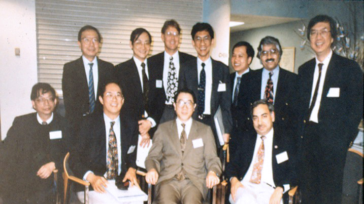 Birth of APSIC, Sidney, 1993