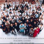PTCA & Valvuloplasty live demonstration teaching course, Singapore, 1990